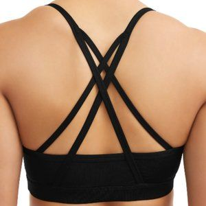 New Athletic Works Sports Bra Black Strappy XXL 20